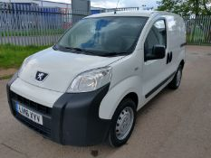 2016 Peugeot Bipper S Hdi Panel van - CL505 - Location: Corby