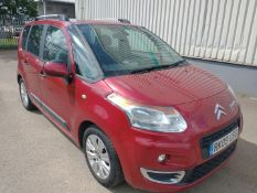 2009 Citroen C3 Picasso Exclusive MPV 1.6 Petrol - CL505 - NO VAT ON THE HAMMER - Location: Corby