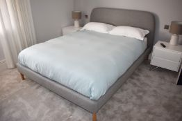 1 x Simba Hybrid King Size Bed With Emma Memory Foam Mattress - RRP £1,300 - NO VAT ON THE HAMMER!