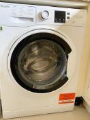 1 x Hotpoint NSWA 963C 9kg 1600rpm Washing Machine - RRP £349 - NO VAT ON THE HAMMER!