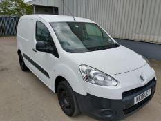 2015 Peugeot Partner Panel Van - CL505 - Location: Corby