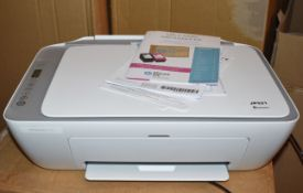 1 xHP Deskjet 2720 All-in-One Wireless Printer With Full Box of Printer Paper - Ref JP521 WH2 -