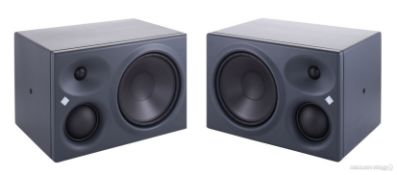 2 xNeumann KH310A Active Studio Monitor Speakers With Stands - RRP £3,428 - NO VAT ON THE HAMMER!