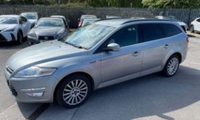 2012 Ford Mondeo Zetec Business Edn Tdci 5dr Saloon - CL505 - NO VAT ON THE HAMMER - Location: Corby
