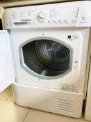 1 xHotpoint TCHL870BP 8Kg Condenser Tumble Dryer - NO VAT ON THE HAMMER!
