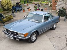 Stunning 1979 Mercedes Benz SL350 V8 With Factory Hardtop - Restored in 2018