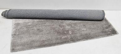 1 x PORADA 'Berry' Carpet In Graphite Grey - Dimensions: 160x230cm - Ref: 6187274/JUN21 - CL087 -
