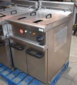 1 xLincat Opus 700 OE7113 Single Large Tank Electric Fryer - 240V / 3PH Power - Approx RRP £3,800 -