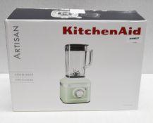 1 x KitchenAid Blender In Pale Green - Ref: HHW027/JUL21 - PAL/A - CL679 - Location: Altrincham