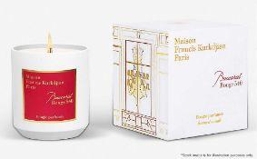 1 x Maison Francis Kurkdjian Baccarat Rouge 540 Candle (280G) - Original RRP £90.00