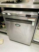 1 x Foster HR150 Undercounter Refrigerator With Stainless Steel Exterior - CL670 - Ref: GEM160 -