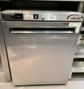 1 x Williams HA134SA Undercounter Refrigerator With Stainless Steel Exterior- CL670 - Ref: GEM162 -