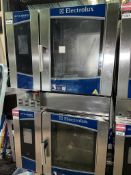 1 x Electrolux Air O Steam 3 Phase Double 6 Grid Steam Oven With Stand- 2018 Model - Type: