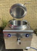 1 x Bonnet 100 Litre 3 Phase Commercial Boiling Pan - Approx RRP £4,999 - Stainless Steel