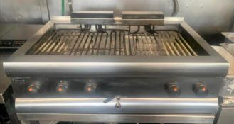 1 x Lincat Silverlink Large Chargrill Cooker - 3 Phase Powered -CL667 - Location: Brighton, Sussex,