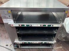 1 x Prince Castle Dedicated Food Holding Warmer Bin - Model DHB-BK47UKC- 240V - Stainless Steel