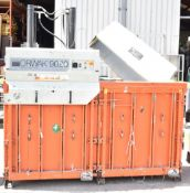1 x Orwak Multi 9020 Twin Chamber Baler - Recycling Station Suitable For Cardboard, Plastics,