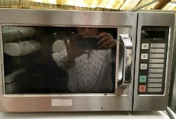 1 x Panasonic NE-1037 Commercial Microwave Oven- 240v - CL667 - Location: Brighton, Sussex,