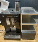 1 x WMF 1200S Commercial Bean to Cup Coffee Machine With Chiller and Cup Holder