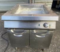 1 x Angelo Po Wet Well With Fan Assisted Hot Cupboard and Stainless Steel Exterior-CL667 -