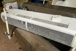 1 x Thermoscreens 9kw 400v Warm Air Curtain - Over Door Heater - Model C1000E NT-CL667 - Location: