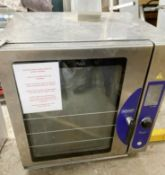 1 x Bonnet 10 Grid Precijet Commercial Combi Oven - 3 Phase - Recently Removed From a 5 Star