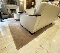 1 xLarge Premium Carpet In Beige - Dimensions: 370cm / 270cm - Ref: SGV124/GF-EntFPlace - CL672 -