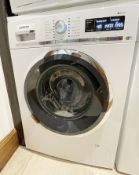 1 x Siemens IQ-500 Integrated 8Kg Washing Machine with 1400 rpm - White - C Rated - Dimensions: