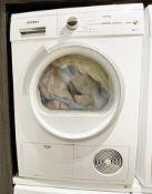 1 x Siemens IQ-300 8Kg Washing Machine With 1400 rpm - White - C Rated - Dimensions: H84.8 x W59.8 x