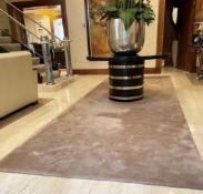 1 xLarge Premium Carpet In Beige - Dimensions: 500cm / 170cm- Ref: SGV123/GF-EntHall - CL672 -