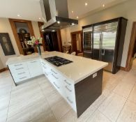 1 x Bespoke FittedMowlem & Co Kitchen With Miele, Wolf, and Sub Zero Appliances & Granite Worktops