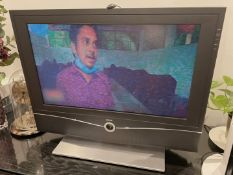 1 x Stylish 'Loewe Xelos' A 26 Television and Remote control - Dimensions To Follow - RRP £1,500!