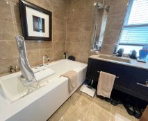 1 x Complete Premium Bathroom Suite WithPhilip Starck / Duravit Branded Fittings- Ref: SGV158 /