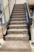 1 x Premium Stairs and Landing Carpet - Dimensions To Follow - Ref: SGV152 - CL672 - NO VAT ON THE