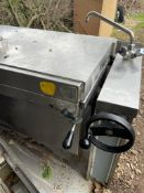 1 x Elro Pressure Brat Pan 150 ltr Capacity - Recently Removed From Ex Michelin Stat Restaurent -