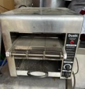 1 x Dualit DCT2T Conveyor Toaster With Stainless Steel Exterior -CL667 - Location: Brighton,