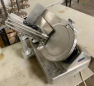 1 x Commercial 12 Inch Meat Slicer - Model 800 - With Stainless Steel Exterior -CL667 - Location: