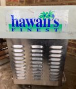 1 x Hawaii's Finest Counter Top Ice Shaver - 230v - Model 1027EX -CL667 - Location: Brighton,