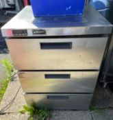 1 x Precision 3 Drawer Refrigerator -CL667 - Location: Brighton, Sussex, BN26Collections:This