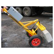 1 x EZ-Lay Vacuum Trolley 150Kg For Kerb and Slab Lifting - In Good Working Order - RRP £3,000 -