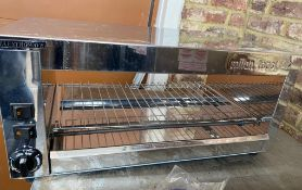 1 xMaestrowave Milan ToasterWith Stainless Steel Finish -CL667 - Location: Brighton, Sussex,