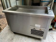 1 xVictor JPS5-1F Mobile Salad Chill Server Unit - 1200mm - CL667 - Location: Brighton, Sussex,
