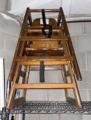2 x Wooden Childrens High Chairs - CL674 - Location: Telford, TF3 Collections: This item is to be
