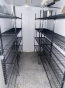4 x Walk in Freezer Wire Shelves in Chrome - CL674 - Location: Telford, TF3 Collections: This item