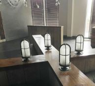 4 x Fisherman Boat Style Lights With Opaque Glass - CL674 - Location: Telford, TF3Collections:This
