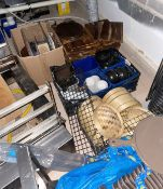 1 x Large Assorted Job Lot of Various Kitchen Equipment - CL674 - Location: Telford, TF3