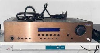 1 x Cambridge Audio System - Includes Topaz SR10 Stereo Amp Receiver and6 x Cambridge Audio