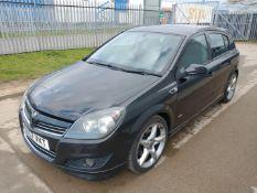 2007 Vauxhall Astra Sri Cdti 1.9 5Dr Hatchback - CL505 - Ref: VVS0020 - NO VAT ON THE HAMMER - Locat