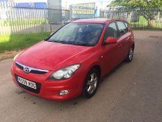 2009 Hyundai i30 Comfort 1.6 Petrol - CL505 - Ref: VVS0021 - NO VAT ON THE HAMMER - Location: Corby,