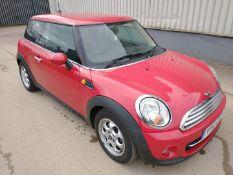 2012 Mini Cooper D 1.6 3Dr Hatchback - CL505 - Ref: VVS0016 - NO VAT ON THE HAMMER - Location: Corby